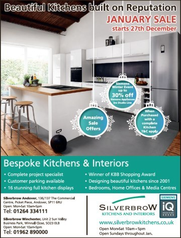 Silverbrow Andover Advertiser Advert