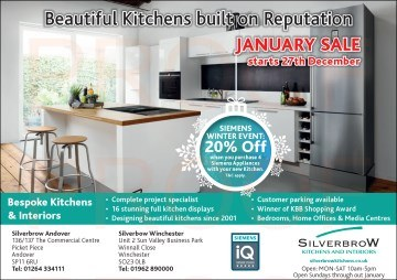 Silverbrow Andover Gazette Advert