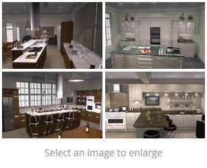 Planit 3D kitchen design images