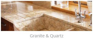 Granite and Quartz kitchen worktops
