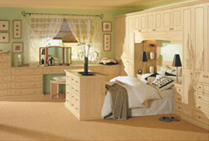 Designer fitted bedrooms in Hampshire